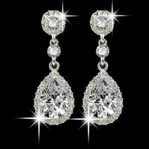 RESTOCKED 3/$21 gorgeous water drop earrings NIP